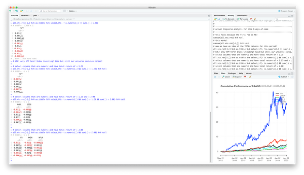 Using Tidyverse to slice data based on column level statistics - #X-Days-of-Code